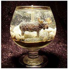 Wildlife Gel Candles · Candle Making | CraftGossip.com