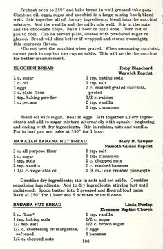 A book of favorite recipes.