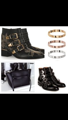 Chloe, Cartier,Celine and Givenchy