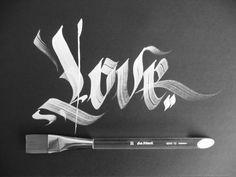 by Médé Infekt #gothic #calligraphy #blackletter