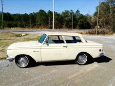 All American Сlassic Сars • 1962 Rambler American DeLuxe 2-Door Sedan This was my first car when i was in high school. Mine was red though. I loved that car. It was fast.