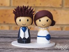 Hey, I found this really awesome Etsy listing at https://www.etsy.com/listing/155992272/cute-wedding-cake-topper-bride-and-groom