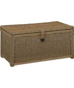 Large Seagrass Storage Chest - Natural.