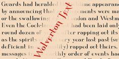Wolverton Font Download #font#fonts#typography#lettering