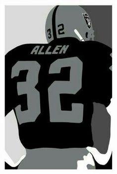 Marcus Allen. Jose Duarte · Raiders · Oakland Raiders Football Logo ... e593c0e6d