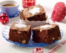 Unser beliebtes Rezept für Lebkuchen-Brownies mit Puderzuckerstern und mehr als 65.000 weitere kostenlose Rezepte auf LECKER.de.