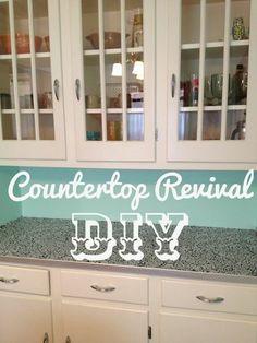 DIY Countertop Revival