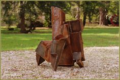 Abstract Sculpture by David Vanorbeek Sculptor. Metal artist in France. - David Vanorbeek, art sculptures.