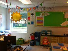 Sky themed classroom  Celebrating Every Single Season: Soaring Through 1st and 2nd