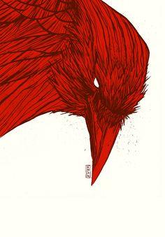 Gilles Vranckx: Red crow