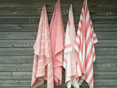 Linenme bath towels (pestemals)