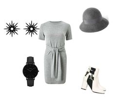 """""""Old lady stile"""" by katelyncd ❤ liked on Polyvore featuring Miss Selfridge, Pollini, Christina Debs and CLUSE"""