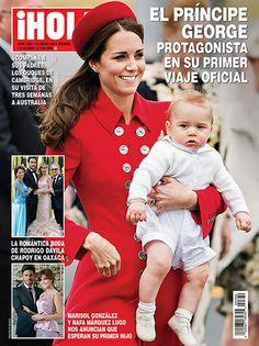 En ¡HOLA!: El Príncipe George de Cambridge, protagonista en su primer viaje oficial