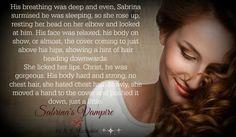 Sabrina's Vampire by A. K. Michaels :)  #AKMichaels #SabrinasVampire #ParanormalRomance #AvasBiteClub #teaser