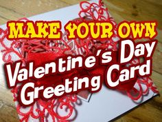 MyArtLife - YouTube Happy Valentines Day Card, Make Your Own, How To Make, 3d Printing, Channel, Youtube, Projects, Prints, Fun