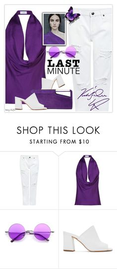 """Last Minute Styling"" by mcheffer ❤ liked on Polyvore featuring Edit, Menesthò, Victoria Beckham, Maryam Nassir Zadeh, COSTUME NATIONAL and distresseddenim"