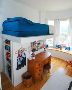 16 Totally Feasible Loft Beds For Normal Ceiling Heights | Small Studio  Apartments, Small Studio And Studio Apartment