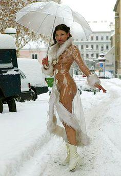 #Vienna #Snow #Fashion - Wien im Schnee