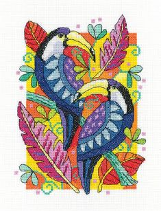 Grebe Heritage Crafts Cross Stitch Kit