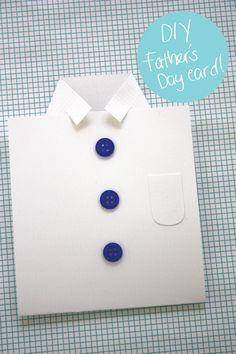 DIY Father's Day Card from Designs by Val