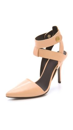 TO MATCH MY TABEA FLATS, fabulous COLOUR these...Alexander Wang Sonja Mid Heel Pumps