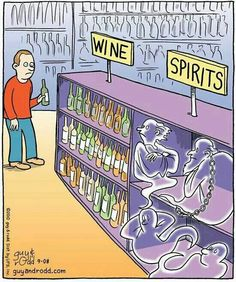 Hallowine humor- just another reason to drink wine. Halloween Cartoons, Halloween Fun, Halloween Humor, Halloween Sayings, Vintage Halloween, Ghost Cartoon, Funny Ghost, Funny Cartoons, Funny Jokes