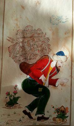 istanbul'un hamalı yapan şebnem gözde