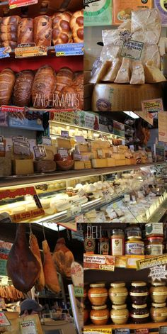 Zingerman's Deli. Charcuterie, cheese and bread