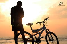 Being fit is not a destination. It is just a way of life #fitness #cycling #cannon #bech#sunrise