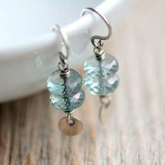 Hey, I found this really awesome Etsy listing at http://www.etsy.com/listing/156276611/aqua-blue-dangle-earrings-mystic-blue