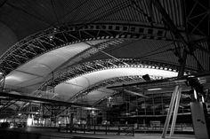 Railway station Leuven (Belgium)