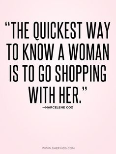 Shoe shopping, specifically! #quote