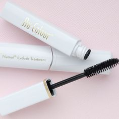 Featuring Tricalgoxyl, a seaweed derivative rich in polysaccharides, this clear gel strengthens and lengthens delicate lashes from roots to tips. Perfect alone or under mascara, this conditioning formula is the ultimate in lash care. Get Long Eyelashes, Perfect Eyelashes, White Eyelashes, How To Grow Eyelashes, Longer Eyelashes, Eyelashes Drawing, Eyelash Tips, Eyelash Tinting, Eyelash Serum