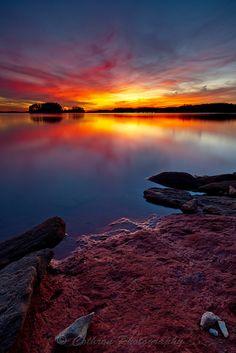 Today's favorite sunset shot.
