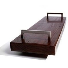 Knowles Tray from Brooke Batchelor Design — Faith's Daily Find Communion Trays, Floating Nightstand, Cool Stuff, Modern, Serving Trays, Faith, Crafty, Design, Search