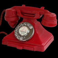 vintage phone....We had a phone like this one and our phone number was 3771.  Wasn't life simple.  Our biggest problem is that we had a 2 party line.  Not many of you will understand that.