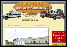 Mt. Calvary Fire Dept & Ambulance Service, Mt. Calvary, Wisconsin