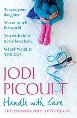 Jodi Picoult.  I remember reading this at the beach....finished it and wanted to launch it into the ocean.  LOL!  Didn't love the ending, but well written nonetheless.