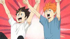 shipper — I already did read Haikyuu! the manga but the. Nishinoya Yuu, Hinata Shouyou, Kagehina, Haikyuu Funny, Haikyuu Fanart, Haikyuu Anime, Anime Friendship, Haikyuu Wallpaper, Kawaii