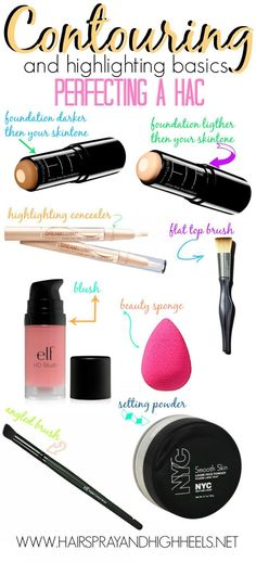 AFFILIATE LINKS  Am I the only one who has sat around forever trying to figure out just how to contour…? I know I can't be. I think it really became crazy when Kim Kardashian posted that Instagram pho