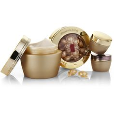 ELIZABETH ARDEN Ceramide Premiere 4-Piece Moisture & Renewal Gift Set (£29) ❤ liked on Polyvore featuring beauty products