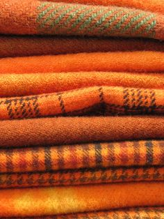 Pumpkin spice blankets will warm up your home for the fall.