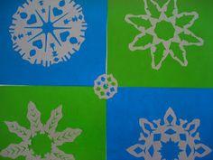 a faithful attempt: Pop Art Snowflakes