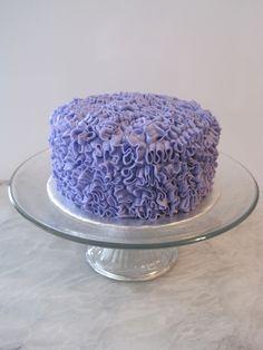 Buttercream Ruffle Cake tip 97