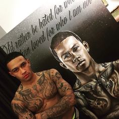 Depay is regarded as the best young talent in Holland, the biggest prospect since Arjen Robben, and can shine at United Football Tattoo, Football Team, Tattoo Mafia, Memphis Depay, Manchester United Fans, Soccer Players, Horse Racing, Rugby, Sleeve Tattoos