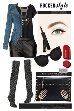 """""""Fashionably late"""" by mood-chic ❤ liked on Polyvore featuring Banana Republic, Tom Ford, Mairi Mcdonald, Chanel, ZoÃ« Chicco, rockerchic and rockerstyle"""
