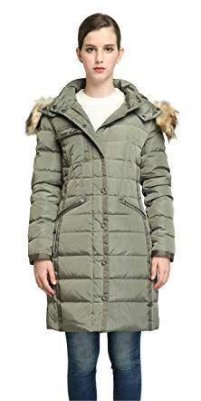 8fc820fb345d Orolay Women Winter Down Coat Warm Thickened Parka Jacket with Removable  Hood Review Открытый Наряд,
