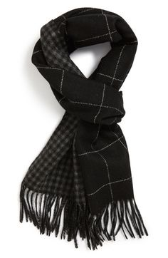 Main Image - Andrew Stewart Double Face Cashmere Scarf