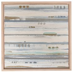 "Shoreline by Megan Donnelly / Foyer 13"" x 13"""