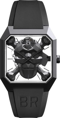 Big Watches, Luxury Watches, Bell Ross, Limited Edition Watches, Skull And Crossbones, Memento Mori, Cyber, Product Launch, Detail